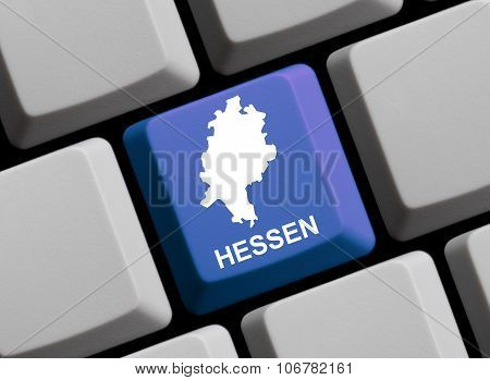 Computer Keyboard - German Federal State Hessen