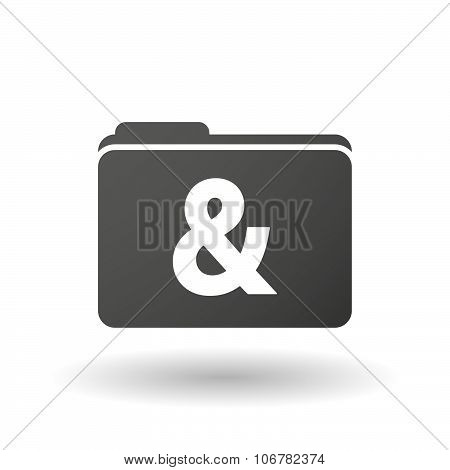 Isolated Binder With An Ampersand