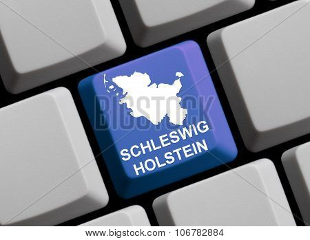 Computer Keyboard - German Federal State Schleswig-holstein