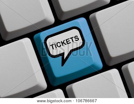 Computer Keyboard - Tickets