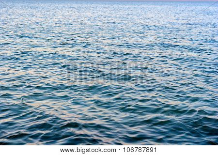 Ripples On Lake Balaton, Hungary