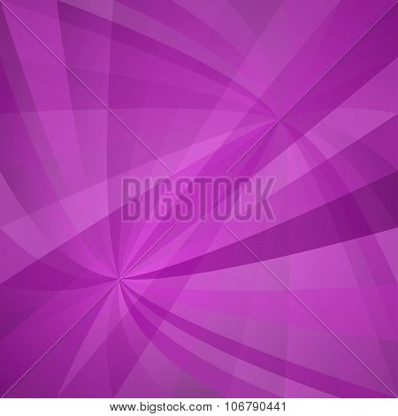 Magenta curved ray design