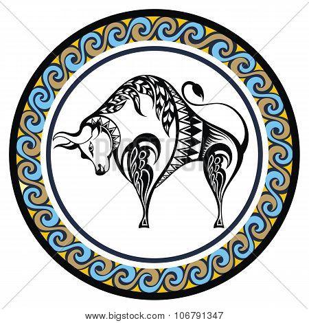Decorative Zodiac Taurus