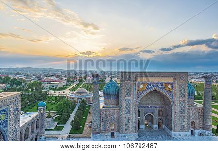 The Sunrise In Samarkand