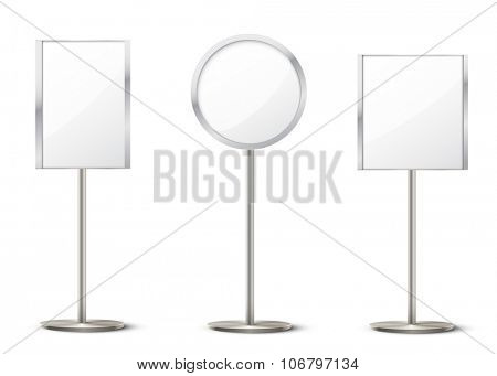 vector holder stands