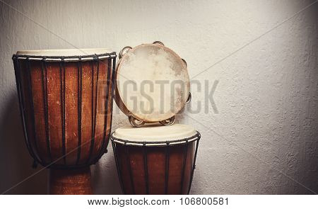 Various Percussion Instruments