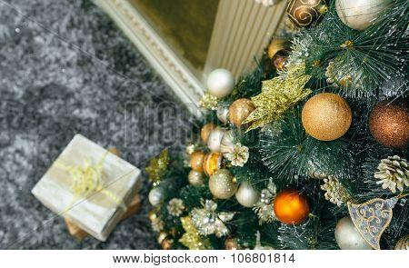 Christmas Gift Under The Christmas Tree