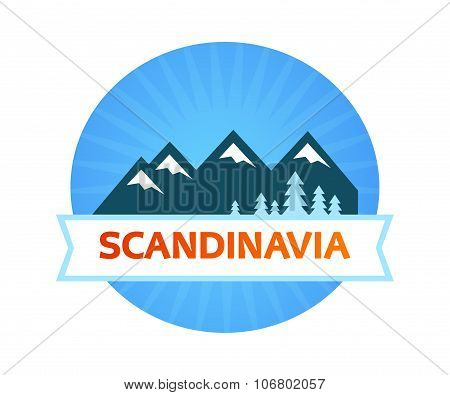 Logo With Scandinavian Nature