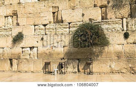 Western Wall In Jerusalem