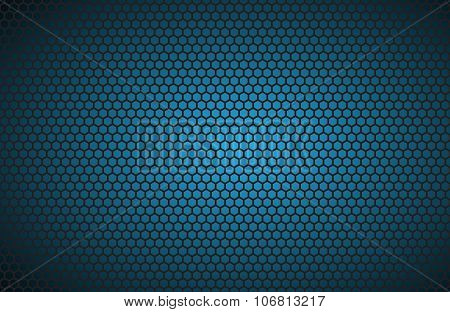 Geometric polygons background abstract blue metallic wallpaper