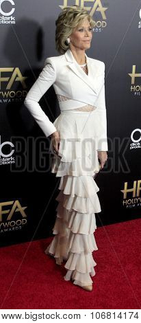 LOS ANGELES - NOV 1:  Jane Fonda at the 19th Annual Hollywood Film Awards at the Beverly Hilton Hotel on November 1, 2015 in Beverly Hills, CA