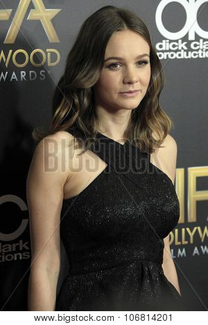 LOS ANGELES - NOV 1:  Carey Mulligan at the 19th Annual Hollywood Film Awards at the Beverly Hilton Hotel on November 1, 2015 in Beverly Hills, CA