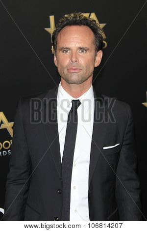 LOS ANGELES - NOV 1:  Walton Goggins at the 19th Annual Hollywood Film Awards at the Beverly Hilton Hotel on November 1, 2015 in Beverly Hills, CA