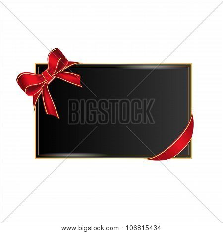 Card with place for your text