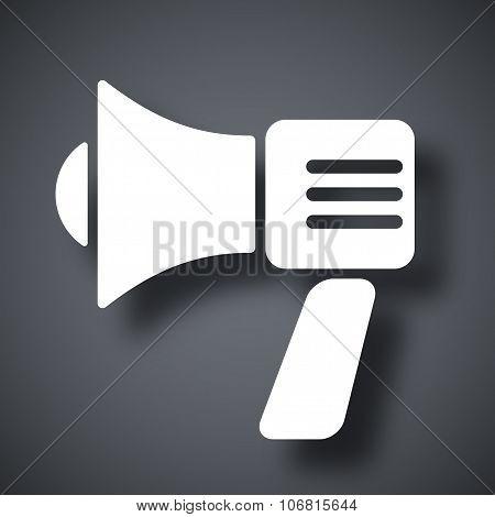 Vector Megaphone Icon