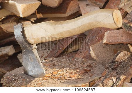 Wood And An Ax