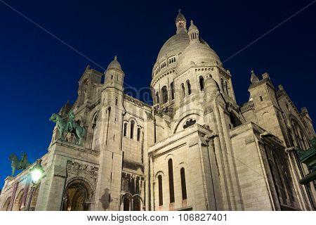 The Basilica Sacre Coeur, France, Paris.