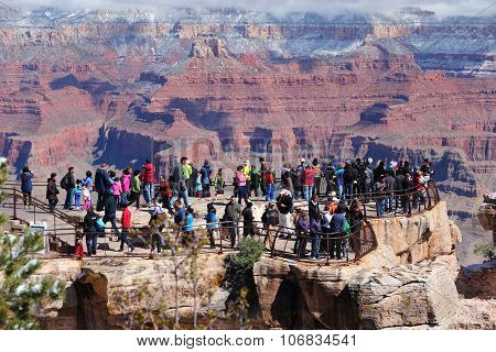 Grand Canyon Tourist