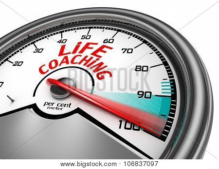 Life Coaching To Hundred Per Cent Conceptual Meter