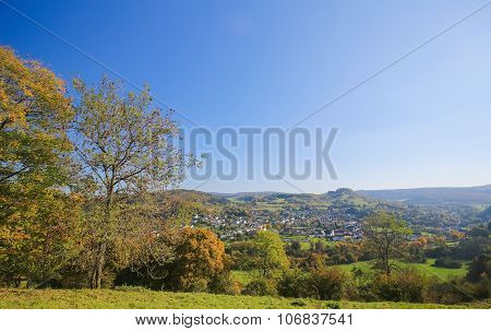 Village In Vulkaneifel District In Germany