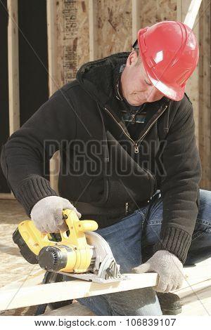 A construction men working