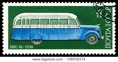 Stamp. Car Zis - 16, 1938.