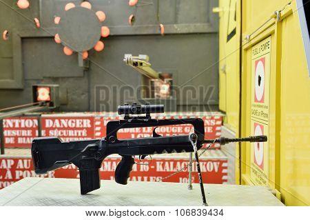 Gun Rifle Ready