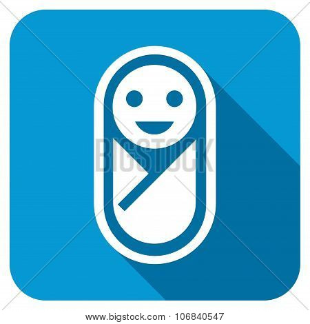 Baby Longshadow Icon