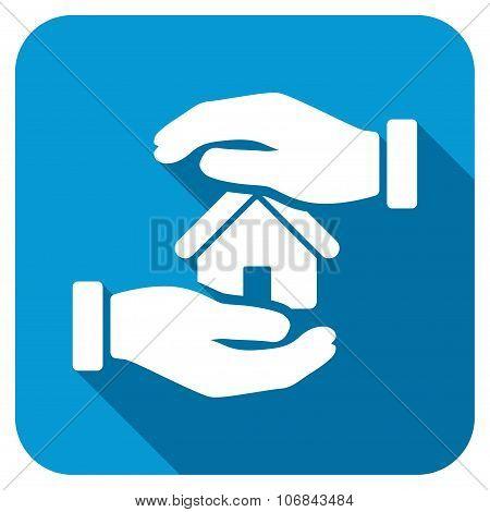 Realty Insurance Longshadow Icon