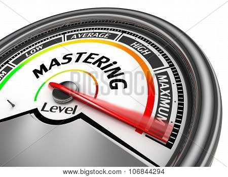 Mastering Level To Maximum Conceptual Meter