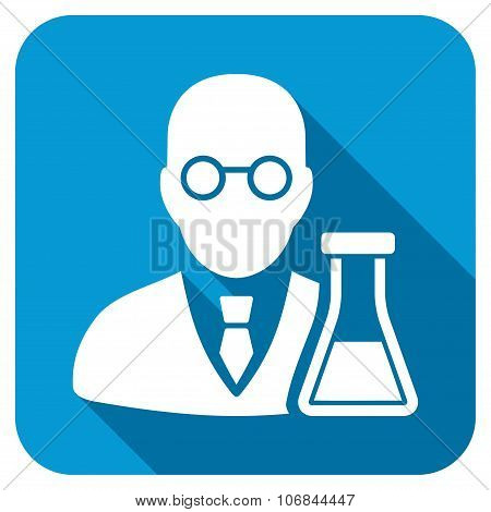 Chemist Longshadow Icon