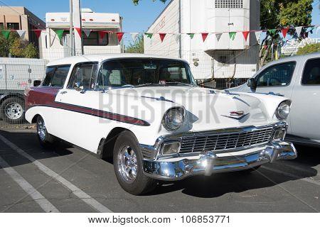 Chevrolet Bel Air Nomad On Display