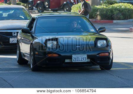 Nissan 240Sx On Display