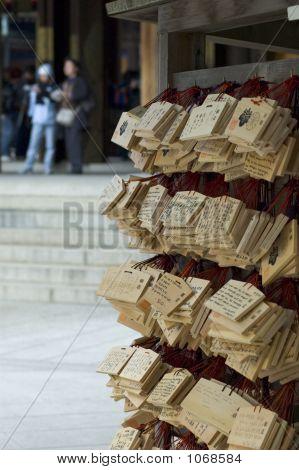 Shinto Prayer Boards