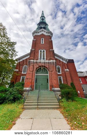First Baptist Church - Burlington, Vermont