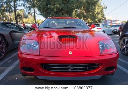 Ferrari 575M Maranello On Display