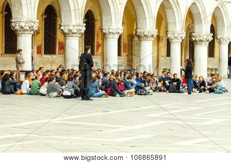 Venice. Young Christians.