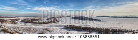 Winter Kama And Toima River