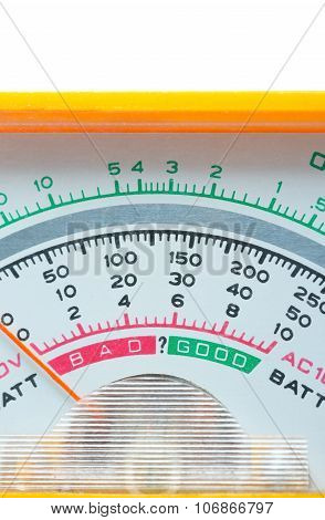 The Scale Of Multimeter