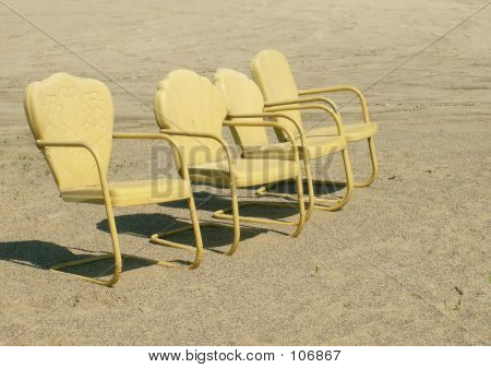 Four Chairs On The Shore