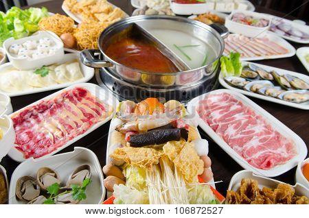 hot pot foods restaurant menu