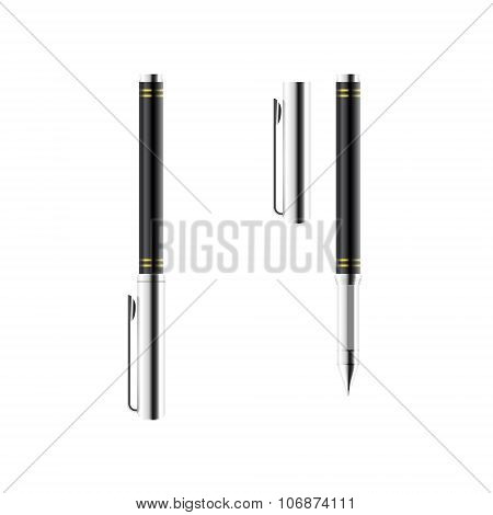Silver Metal Pen