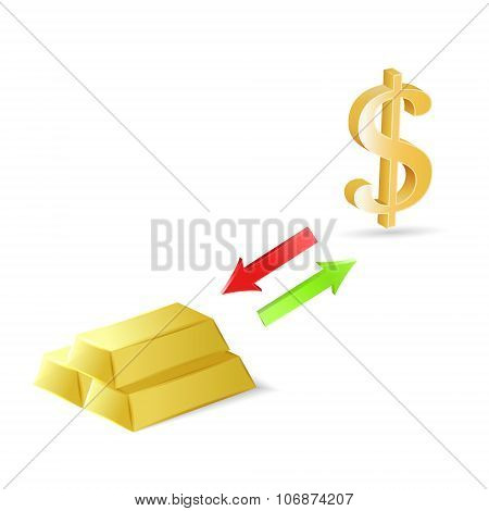 Conversion Of Dollars Into Gold