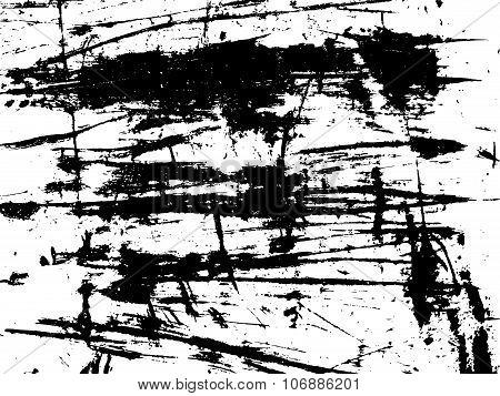 Grunge Damaged Paint On Metal Surface Texture