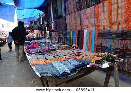 Sunday Rural Market In Bac Ha, Vietnam