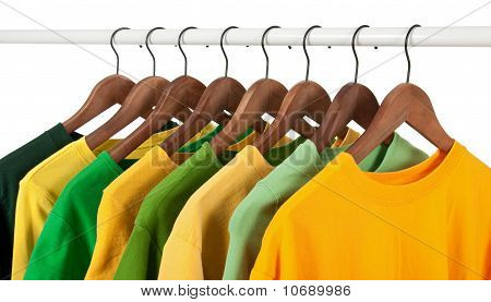 Choice Of Green And Yellow Casual Shirts