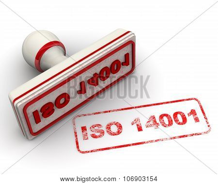 ISO 14001. Seal and imprint
