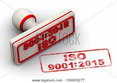 ISO 9001:2015. Seal and imprint
