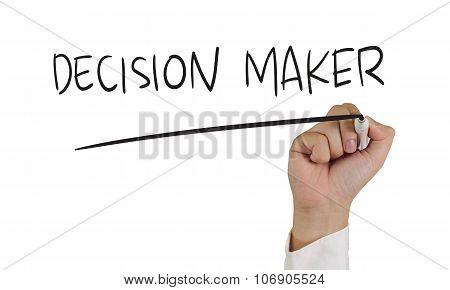 Decision Maker Concept