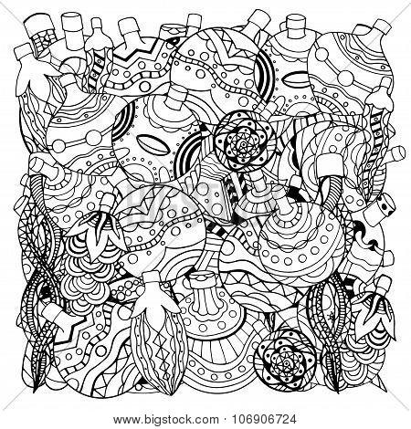 Christmas Hand-drawn Decorative Elements